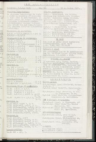 Bulletins (vnl. opstellingen) 1961-09-12
