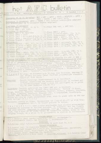 Bulletins (vnl. opstellingen) 1964-12-16