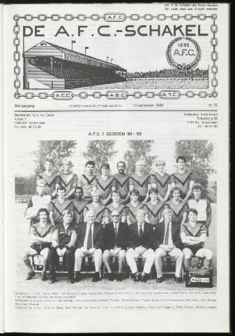 Schakels (clubbladen) 1984-09-12