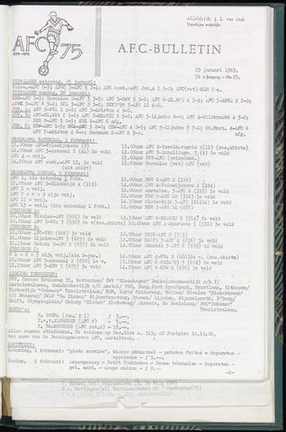 Bulletins (vnl. opstellingen) 1969-01-29