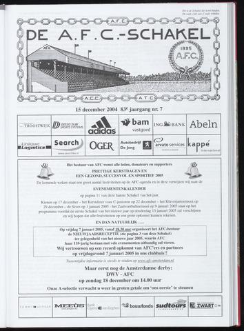 Schakels (clubbladen) 2004-12-15