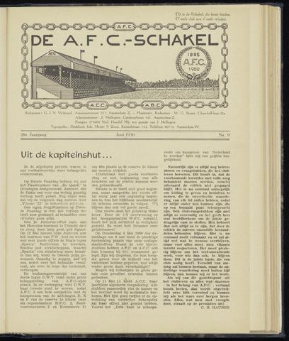 Schakels (clubbladen) 1950-06-01