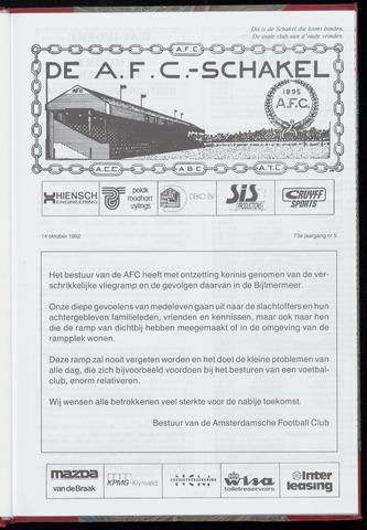 Schakels (clubbladen) 1992-10-14