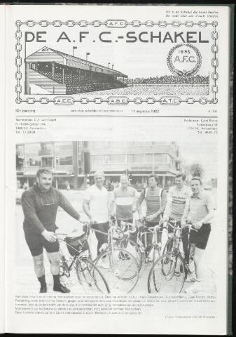Schakels (clubbladen) 1982-08-11