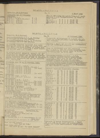 Bulletins (vnl. opstellingen) 1948-02-26