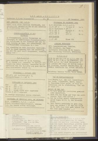 Bulletins (vnl. opstellingen) 1952-12-23