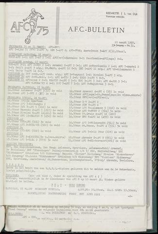 Bulletins (vnl. opstellingen) 1968-03-20