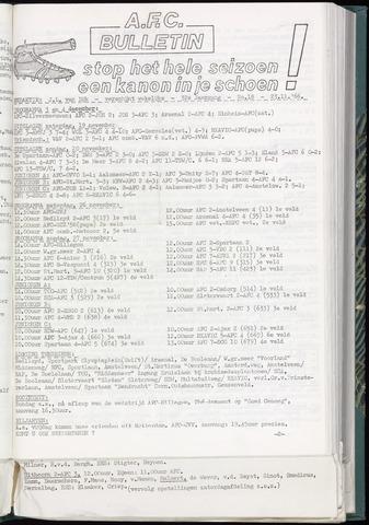 Bulletins (vnl. opstellingen) 1966-11-23