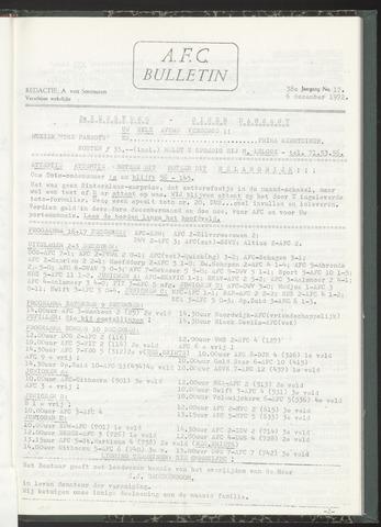 Bulletins (vnl. opstellingen) 1972-12-06
