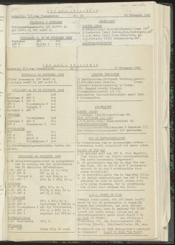 Bulletins (vnl. opstellingen) 1953-11-17