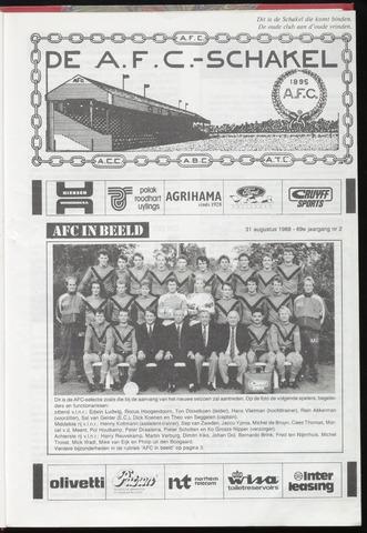 Schakels (clubbladen) 1988-08-31