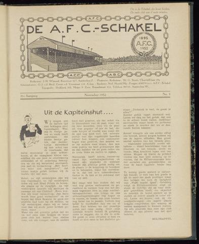 Schakels (clubbladen) 1952-11-01