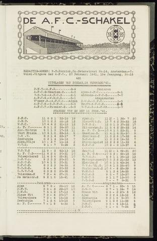 Schakels (clubbladen) 1941-01-20
