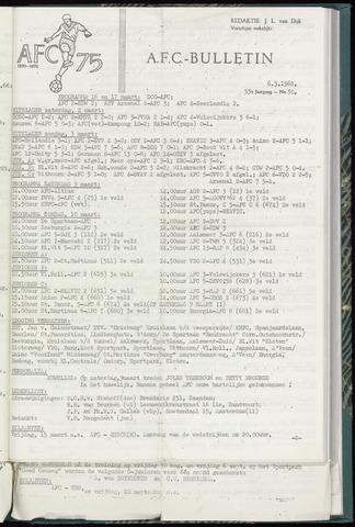 Bulletins (vnl. opstellingen) 1968-03-06