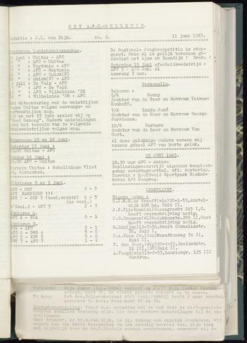 Bulletins (vnl. opstellingen) 1963-06-05