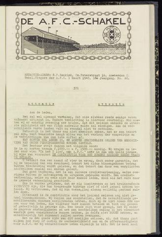 Schakels (clubbladen) 1940-03-01