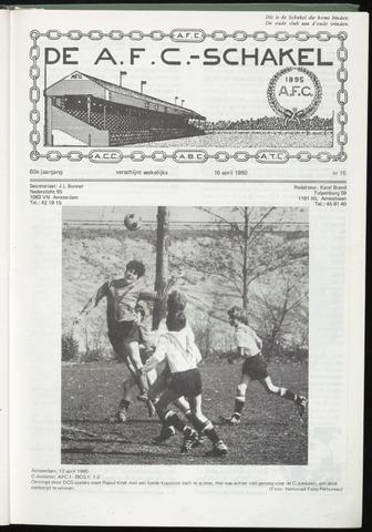 Schakels (clubbladen) 1980-04-16