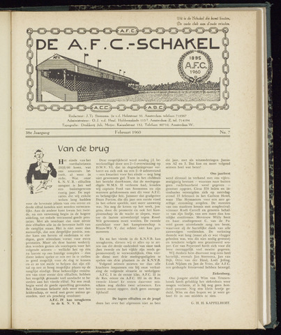 Schakels (clubbladen) 1960-02-01