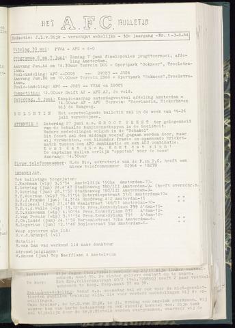 Bulletins (vnl. opstellingen) 1964-06-03
