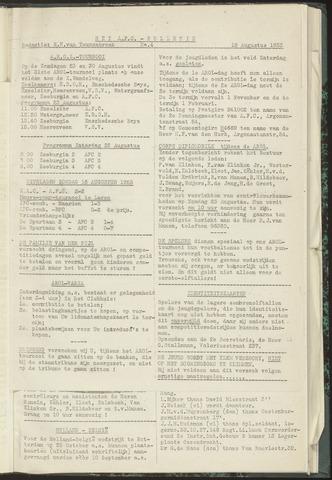Bulletins (vnl. opstellingen) 1953-08-13