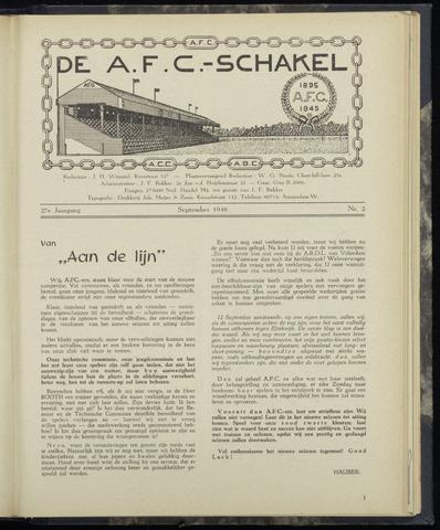 Schakels (clubbladen) 1948-09-01