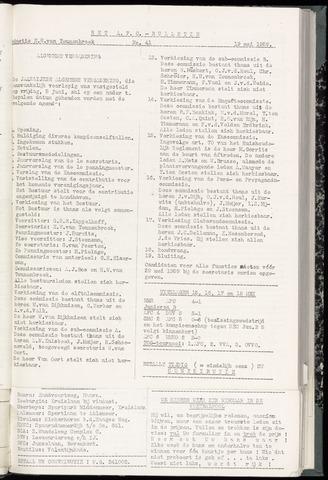 Bulletins (vnl. opstellingen) 1959-05-19