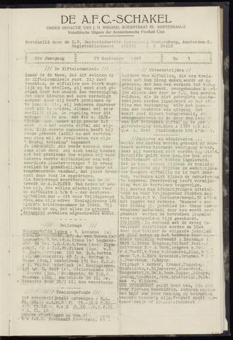Schakels (clubbladen) 1943-09-23
