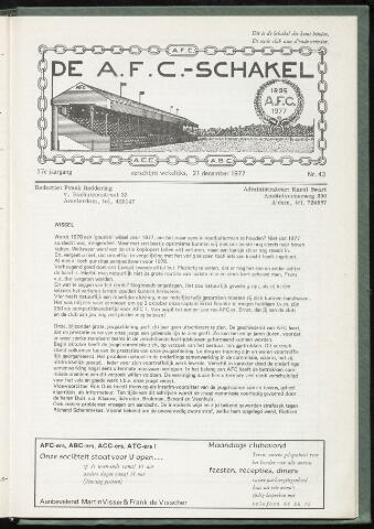 Schakels (clubbladen) 1977-12-21