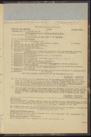 Bulletins (vnl. opstellingen) 1949-06-20