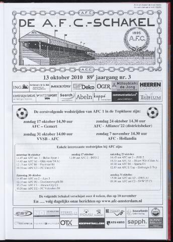Schakels (clubbladen) 2010-10-13
