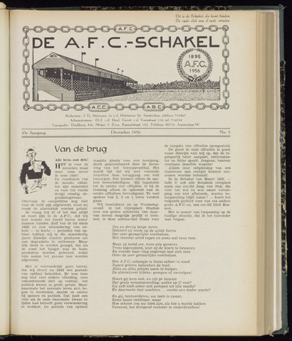 Schakels (clubbladen) 1956-12-01