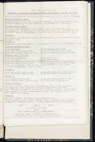 Bulletins (vnl. opstellingen) 1966-03-23