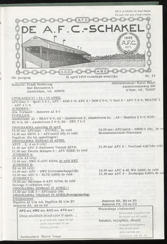 Schakels (clubbladen) 1976-04-21