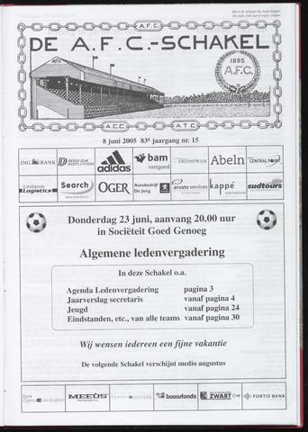 Schakels (clubbladen) 2005-06-08