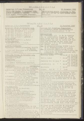 Bulletins (vnl. opstellingen) 1950-11-15