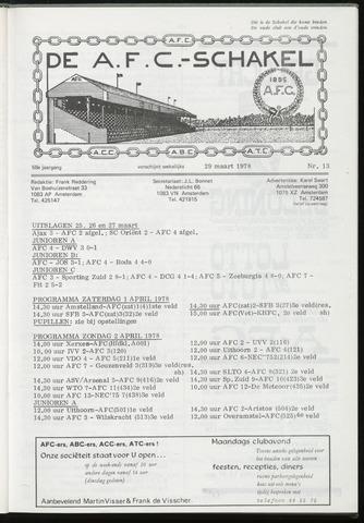 Schakels (clubbladen) 1978-03-29