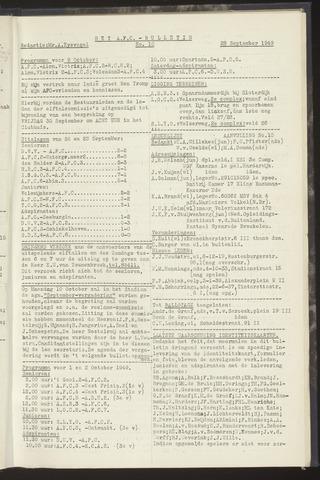 Bulletins (vnl. opstellingen) 1949-09-28