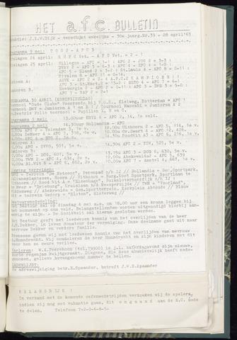 Bulletins (vnl. opstellingen) 1965-04-28