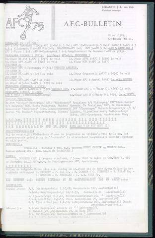 Bulletins (vnl. opstellingen) 1969-05-28