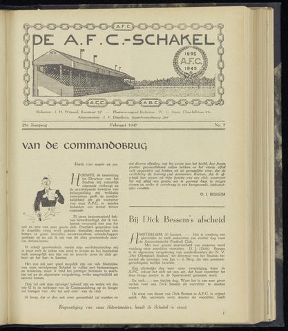 Schakels (clubbladen) 1947-02-01