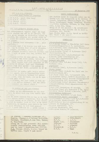 Bulletins (vnl. opstellingen) 1955-08-16