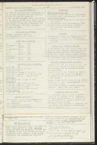 Bulletins (vnl. opstellingen) 1956-12-04