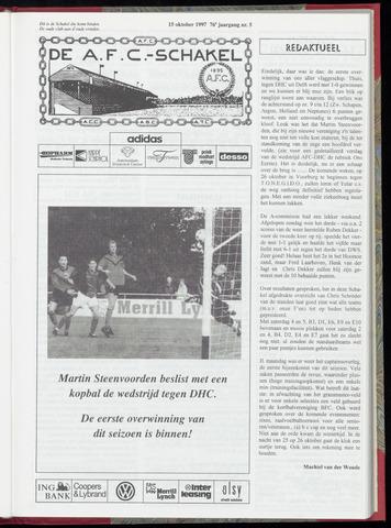 Schakels (clubbladen) 1997-10-15