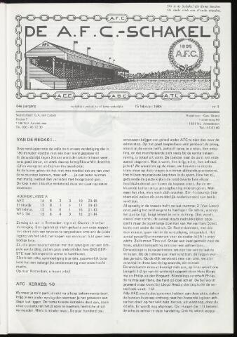 Schakels (clubbladen) 1984-02-15