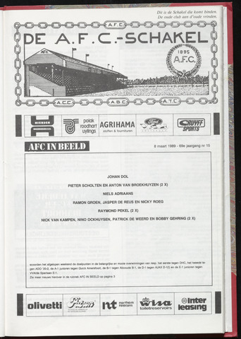 Schakels (clubbladen) 1989-03-08