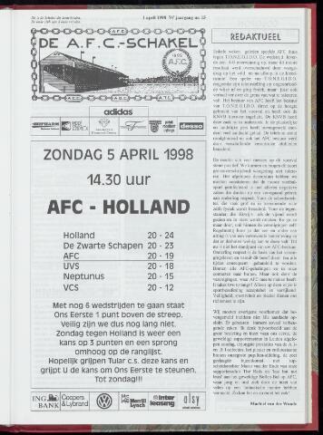 Schakels (clubbladen) 1998-04-01