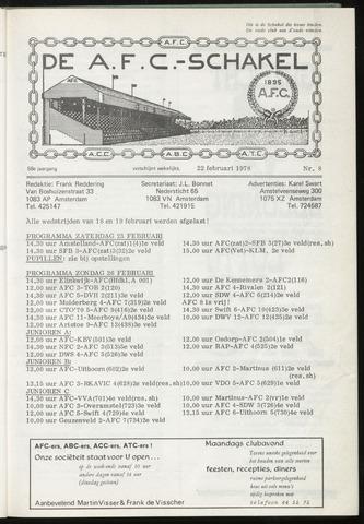 Schakels (clubbladen) 1978-02-22