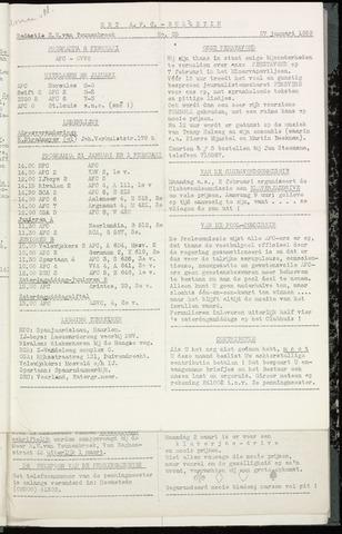 Bulletins (vnl. opstellingen) 1959-01-28