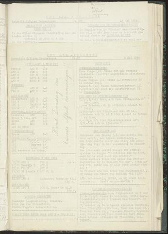 Bulletins (vnl. opstellingen) 1954-05-04