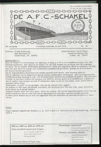 Schakels (clubbladen) 1976-05-12